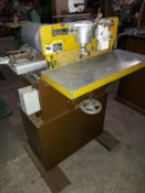 Ritter Doweling Machine, Model #BR-803HD, 2 - Baldor 1 HP 230 Volt 3ph Motors