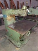 """Ekstrom Carlson & Co. 20"""" Pin Router, Table Size is 22"""" x 32"""", Model #232, Motor is 230/460 Volt"""