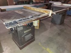 """Master Machinery 10"""" Tilting Arbor Table Saw, Model #MC-10TA-1, Biesemeyer T-Square Fence & 53"""""""