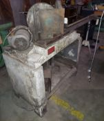 """Pistorius 10"""" Double Miter Saw, Model #MN/200, 48"""" Accur Cut Gage Fence System, Motor is 2-Baldor"""