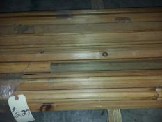 """Knotty Pine Molding, Up to 16' Long & 1-3/4"""" Poplar Crown Molding"""