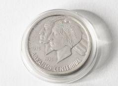 2x 1/2 Dollar USA. 1935. Arkansas Centinal 1836-1936.