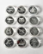 12 x 50 cents Canada, special coins