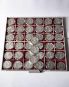 39x 1 Dollar USA. Morgan Dollar. 1878-1921
