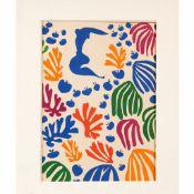 Henri Matisse (1869-1954)-colour graphic