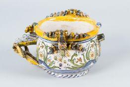 Italian Majolica jug bowl