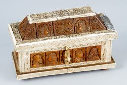 Small casket in Embriachi manner