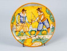 Montelupo ceramic dish