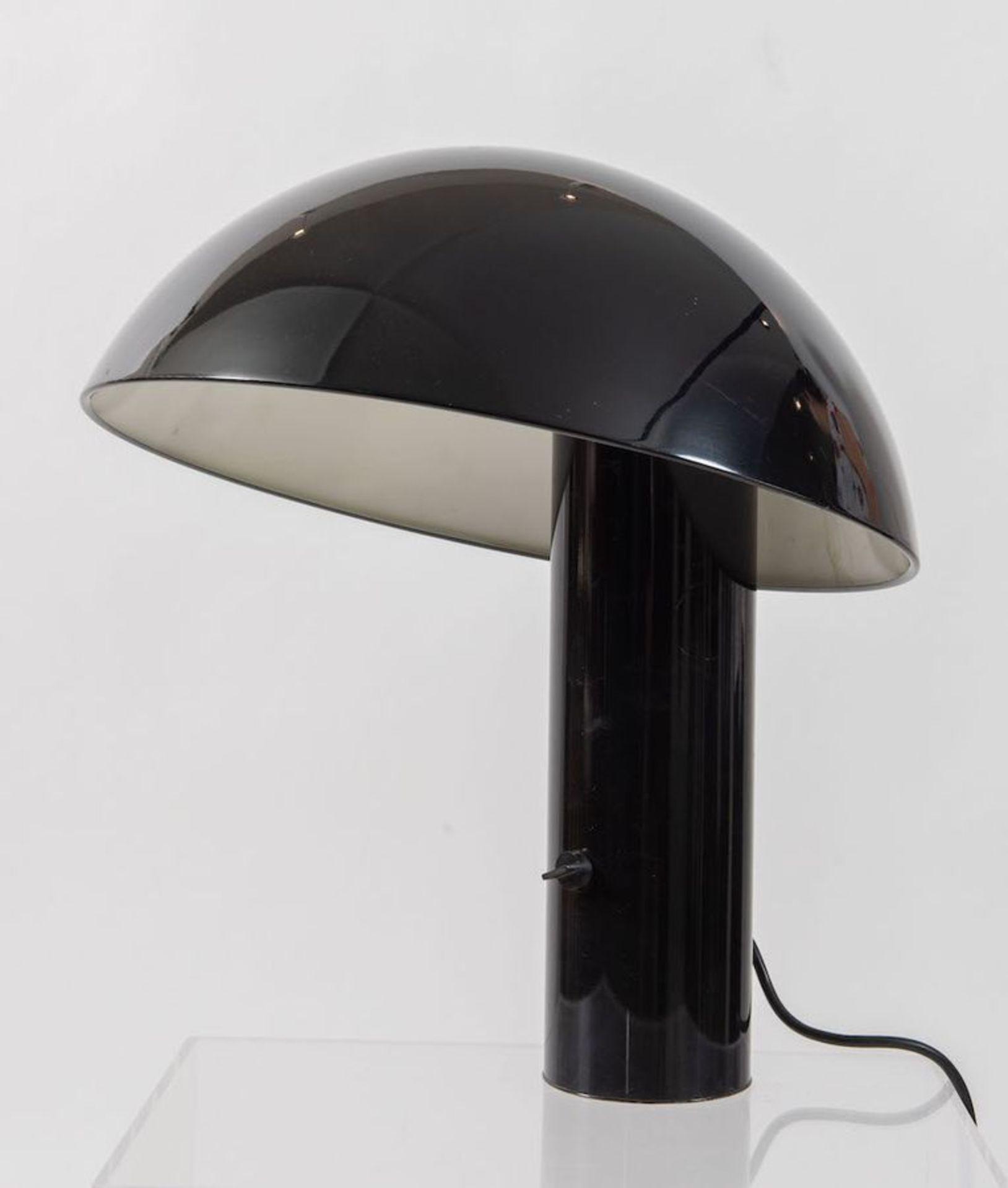 FRANCO MIRENZI Lampada da tavolo in metallo modello Vaga. Prod. Valenti luce, 1978. Cm 47x40x40. - Bild 2 aus 2