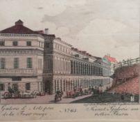 Colorierter Kupferstich um 1820