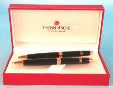Caran d'Ache - 2 Kugelschreiber CARAN