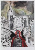 Salvador Dali, AlsaceSalvador Dali, Alsace, chromolithography, 47 × 34 cm, signed bottom right