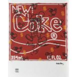 Keith Haring, Andy Mouse-New CokeKeith Haring, Andy Mouse-New Coke, chromolithography, 47 × 46