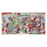 Utagawa Kunisada III, Young Women Growing SilkwormsUtagawa Kunisada III, Young Women Growing S