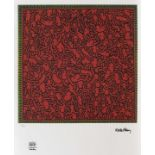 Keith Haring, CompositionKeith Haring, Composition, chromolithography, 46 × 46 cm, signed bott