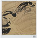 Gustav Klimt, The Blood Of FishGustav Klimt, The Blood Of Fish, chromolithography, 39,5 × 39,5