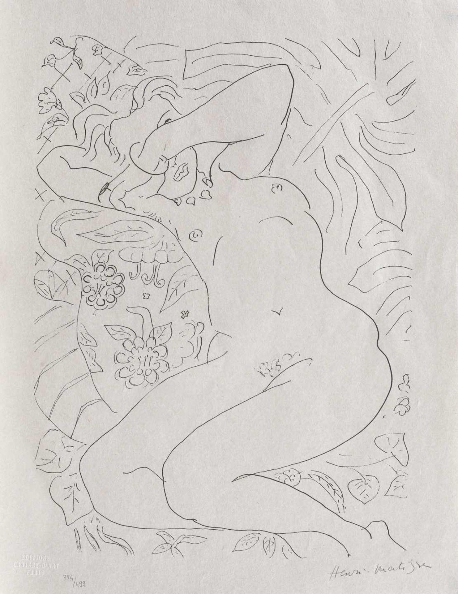 Henri Matisse, Madame Dorothy Taley Henri Matisse, Madame Dorothy Taley, chromolithography, 60 × 46