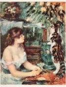 Pierre Auguste Renoir, Young Girl with Cat