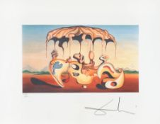 Salvador Dalí, Surrealism with Jellyfish