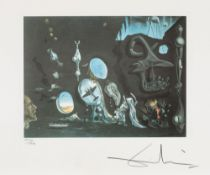 Salvador Dalí, Uranium and Atomica Melancholica Idyll