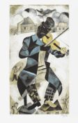 Marc Chagall, The Fiddler