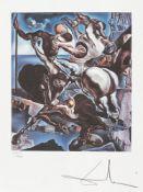 Salvador Dalí, Family of Marsupial Centaurs