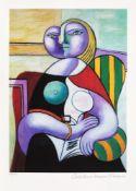 Pablo Picasso, Reading