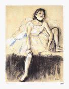 Edgar Degas, Ballerina at rest