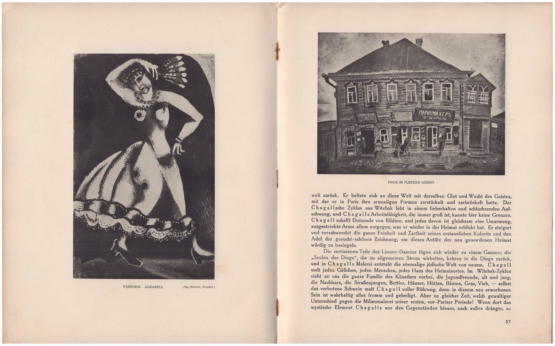 Efross, A., Tugendhold. J. Die Kunst Marc Chagalls, von A. Efross und J. Tugendhold / Autorisierte U - Bild 4 aus 4