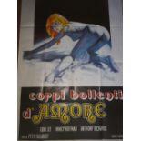 "[Soviet]. Movie poster ""Corpi Bollenti D'Amor"". 1979. <br>"