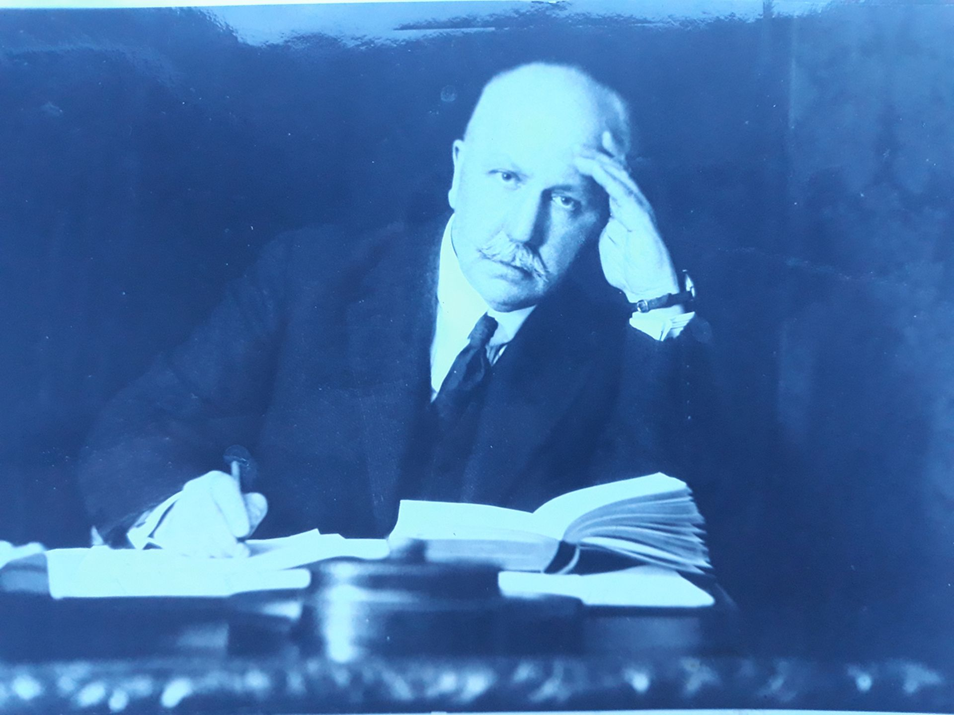 General P. Krasnov. Photograph. Germany. 1932. 11,7x16 см.<br>
