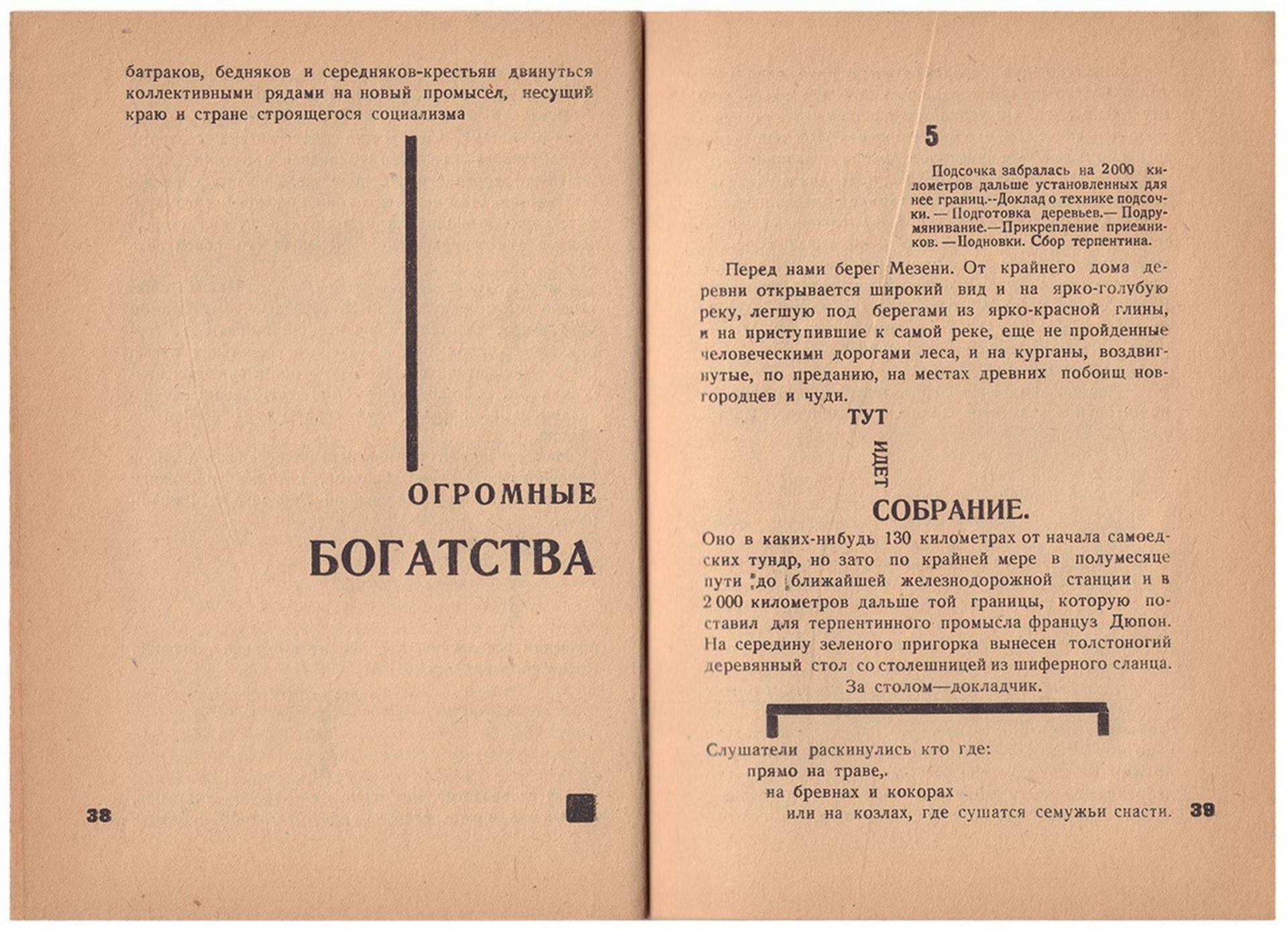 [Soviet art]. Ievlev, S. Our north Turpentine / S.F. Ievlev. - Arkhangelsk, 1931. - 80 pp.: ill.; 29 - Bild 5 aus 6