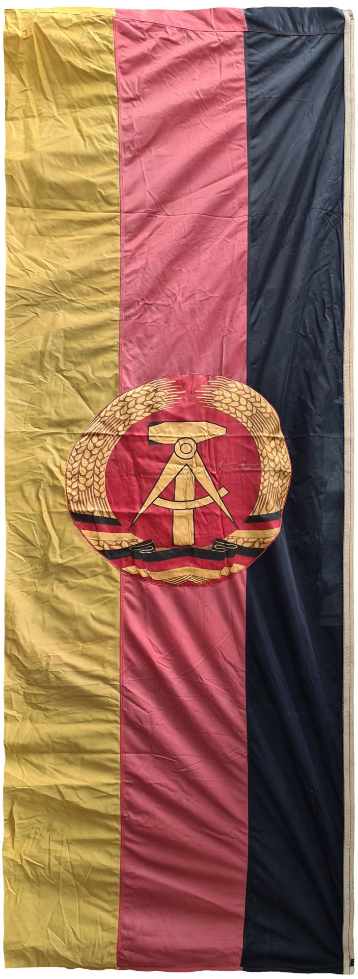 Large flag of DDR, East Germany , Banner about 1970 year - Bild 2 aus 2