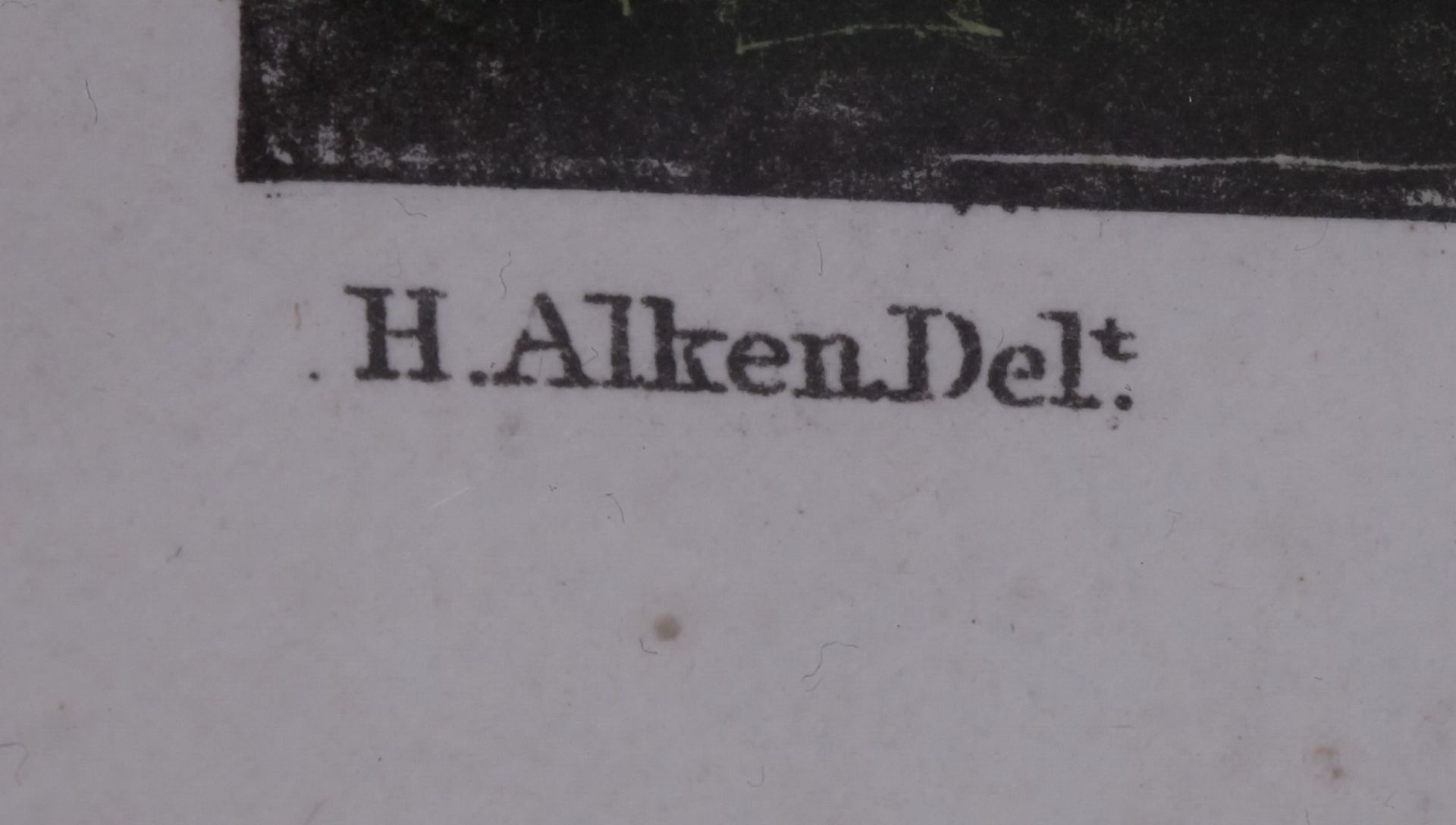 """Alken, Henry. Lithograph """"The High Mettled Racer. The death"""".<br>Framed. Middle of the XIX century.  - Bild 4 aus 4"""