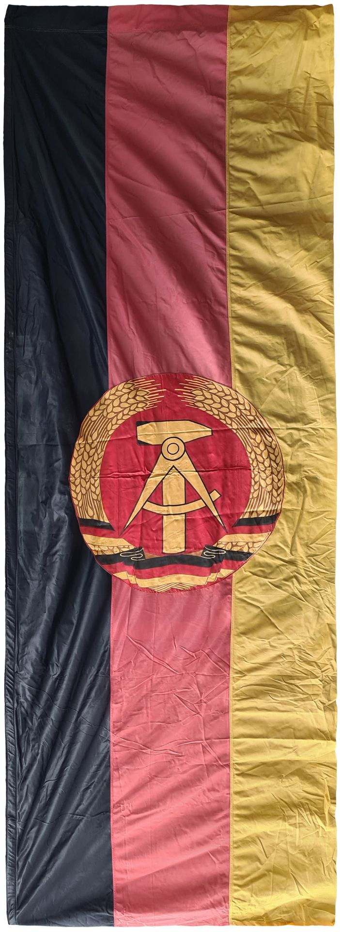 Large flag of DDR, East Germany , Banner about 1970 year