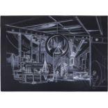 "Grieg, V. artwork #5 from ""Utopia"". 2007. Paper, gel pen. 70x100 cm. <br> Signed. Sales: Phillips (D"