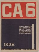[Gan, A. design. Soviet art]. Modern architecture. Issue 6, 1928. 169-200 pp.: ill., diagrams, table