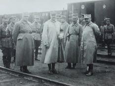[Soviet]. Chief of Czechoslovak Legioners in Siberia Jan Syrov? and Jean Jeanen. Photograph. Vladivo