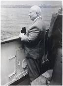 [Soviet]. Nikita Khrushchev during his journey to Alexandria in 1964. Album of photographs. 19 photo