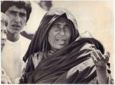 "[Soviet–Afghan War]. Photograph ""Afghan woman"". Original print. 1986. 12,2x16 cm."