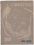 [Czech avant-garde]. ?mrkov?, M. V lomenych liniich. [Prague: Ypsilon, 1932. - 52 pp.: ill.; 24,5x18