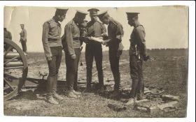 [Russian Empire]. Karl Bulla. Analysis of manoeuvre. 1900s. Photograph. 14x23 cm.