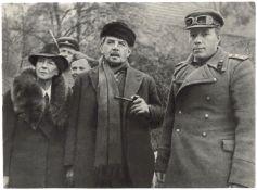 [Soviet Union]. A commander of 63d Chelyabinsk tank brigade Mikhail Georgievich Fomichev with ?douar