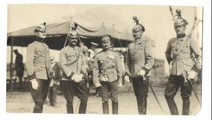 [Russian Empire]. Karl Bulla. Officers of 5th Uhlansky of Lithuania His Majesty the King of Italy Vi