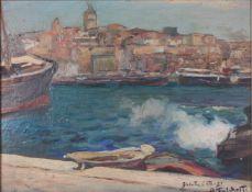 Falchetti, Alberto. Galuta. 1931. Oil on canvas. 36x45 cm.