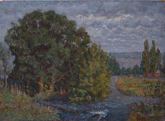 [Soviet art]. Horobets, P.M. River.