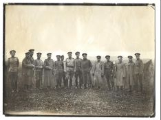 [Russian Empire]. Karl Bulla. A group of officers of the 6th Don Cossack artillery battery (?) on th