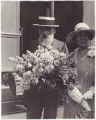 """Photograph """"Ilia Tolstoy in Los-Angeles"""". 1920s."""
