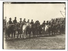 [Russian Empire]. Karl Bulla. Allies of World War I on the Krasnoselsky maneuvers. 1914. Photograph.