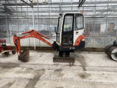 A KUBOTA KX 36-3 MINI DIGGER SERIAL 78757 YEAR 2010 CURRENT OWNER LOCAL USED FOR LIGHTWORK